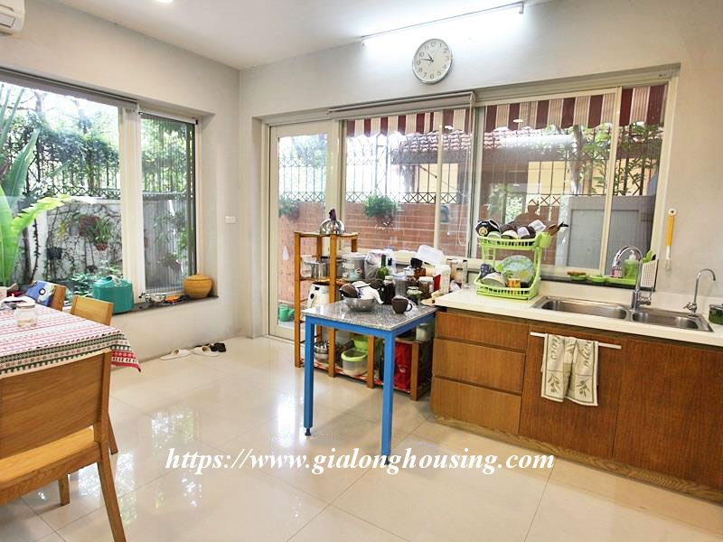 Charming house in Tay Ho for rent with modern furniture 5