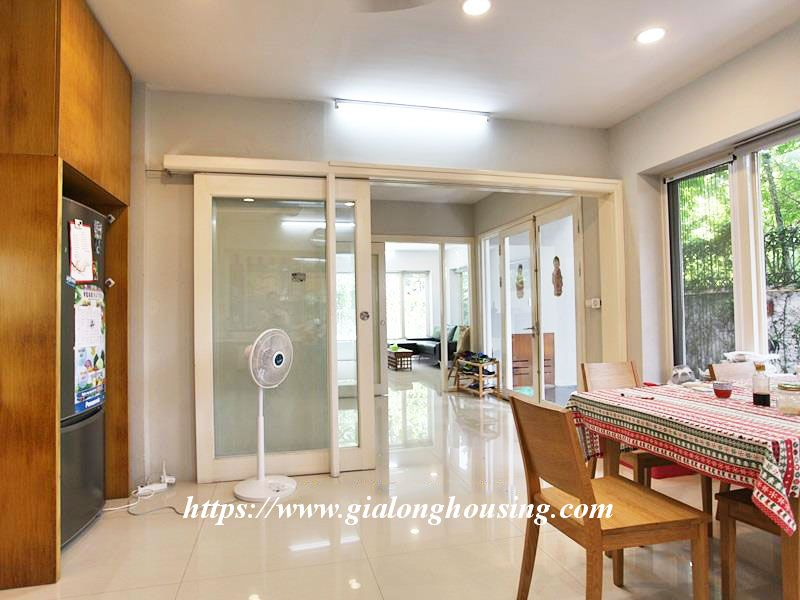 Charming house in Tay Ho for rent with modern furniture 7