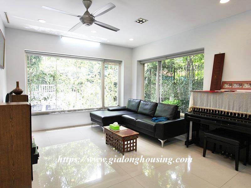 Charming house in Tay Ho for rent with modern furniture 8