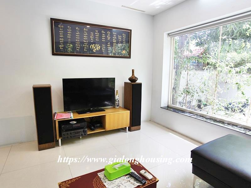 Charming house in Tay Ho for rent with modern furniture 9