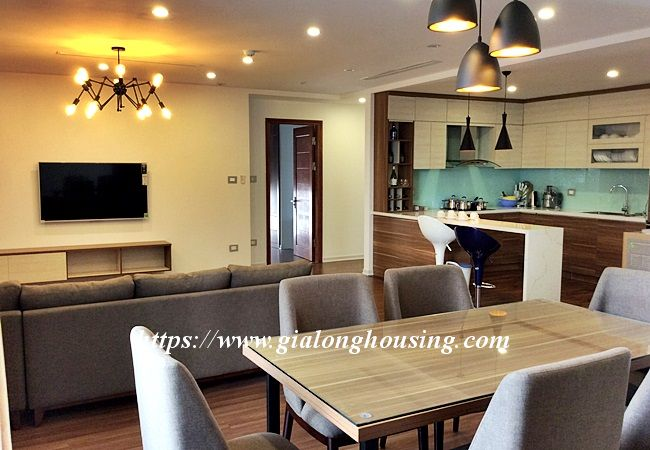 Beautiful large apartment for rent in Tay Ho street 5