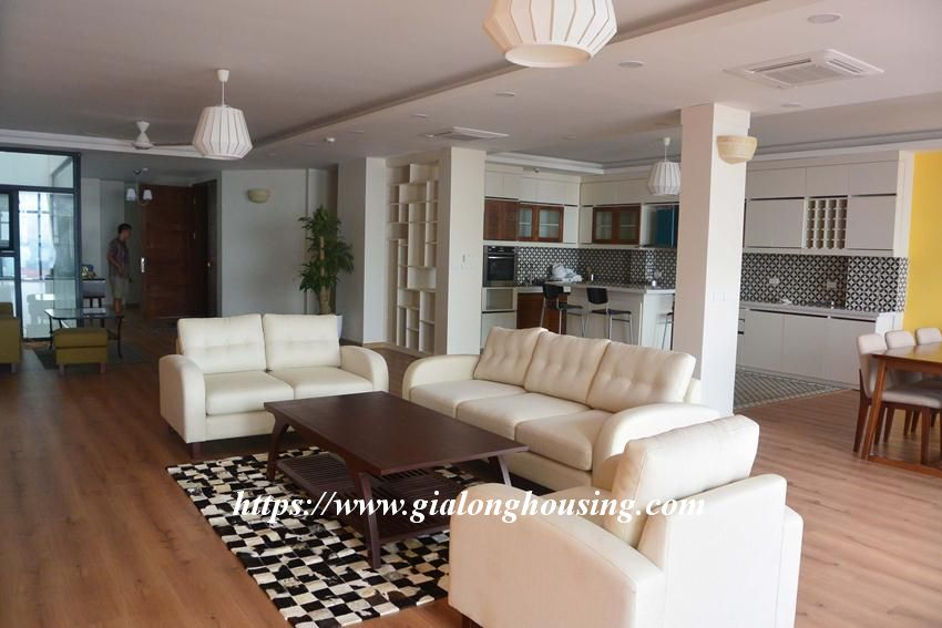 3 bedroom big apartment in To Ngoc Van for rent 1