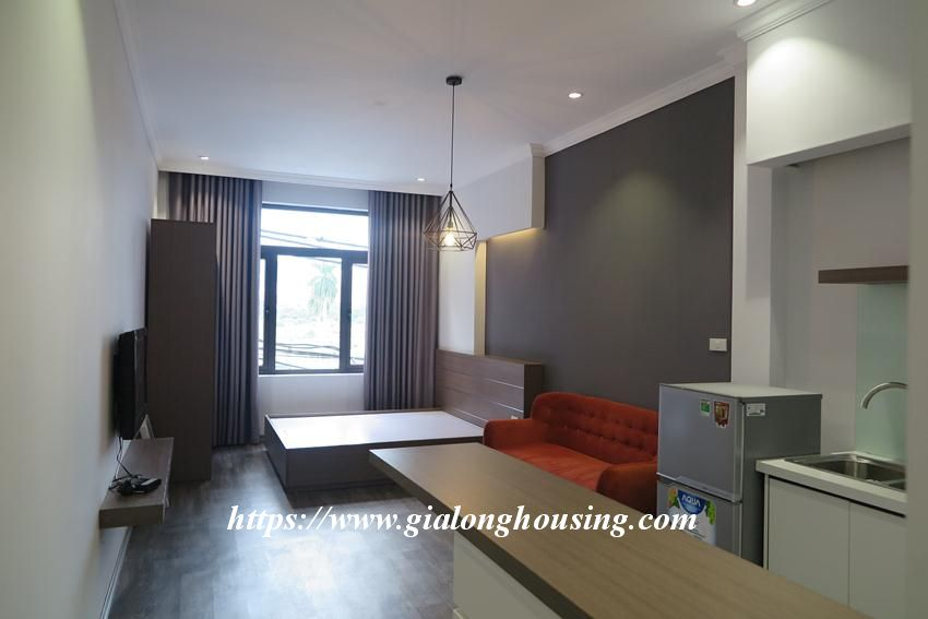 Studio apartment for rent in Giang Vo street 1
