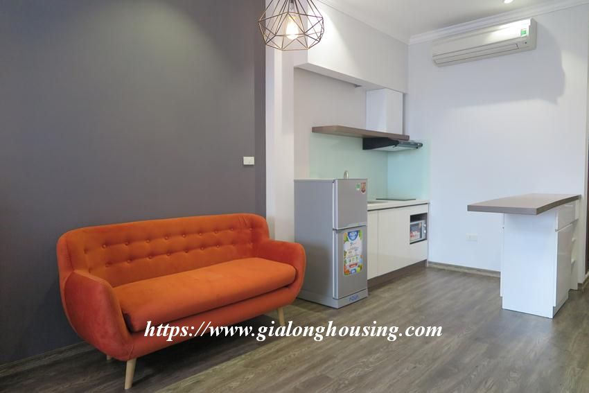 Studio apartment for rent in Giang Vo street 4