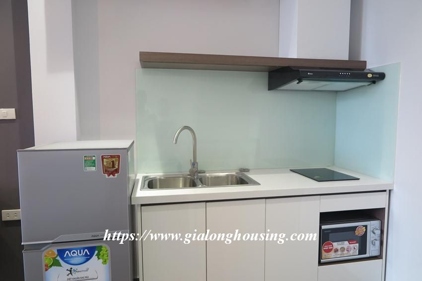 Studio apartment for rent in Giang Vo street 6