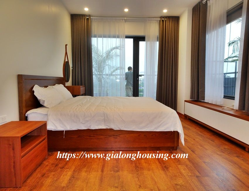 Two bedroom brand new apartment in Trinh Cong Son for rent 12