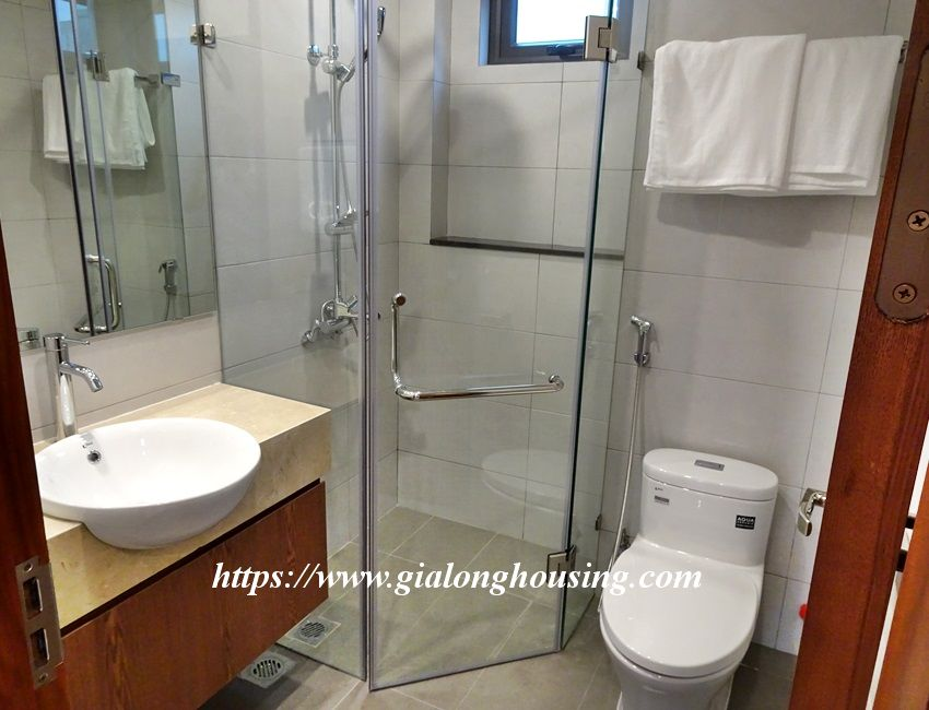 Two bedroom brand new apartment in Trinh Cong Son for rent 4
