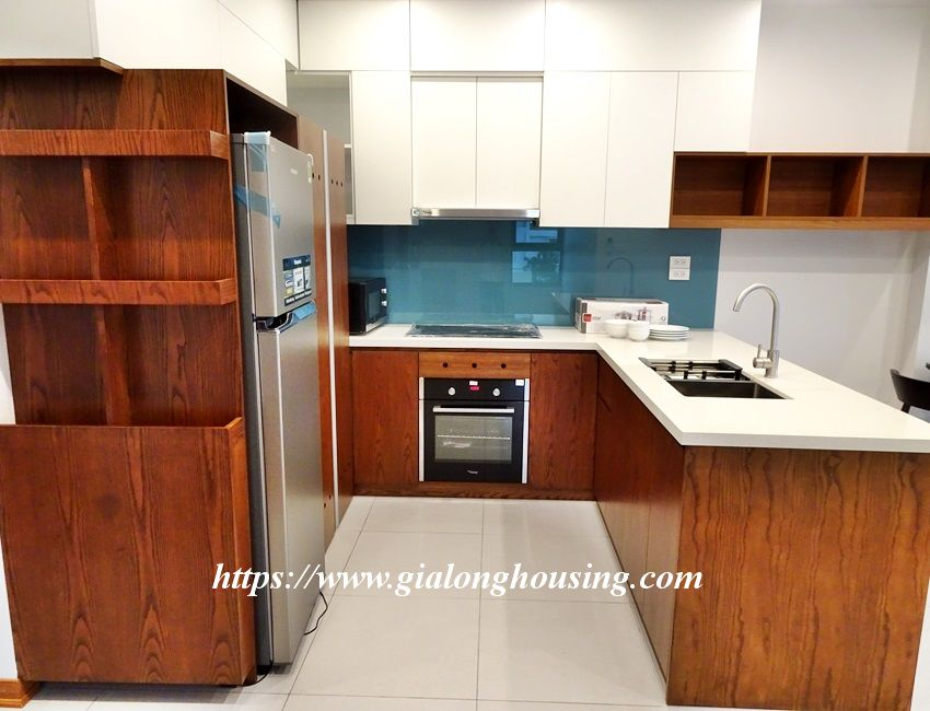 Two bedroom brand new apartment in Trinh Cong Son for rent 5