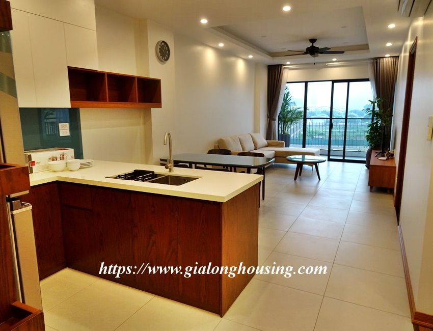Two bedroom brand new apartment in Trinh Cong Son for rent 7