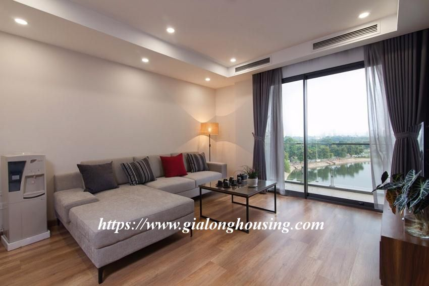 2 bedroom brand new apartment with open space next to Ba Mau lake 9