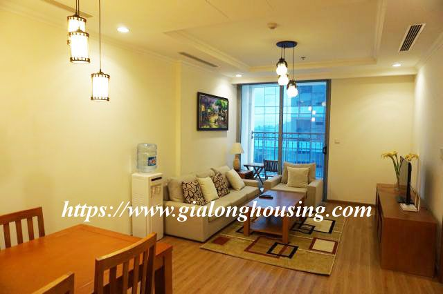 2 bedroom apartment in 20th floor of Vinhomes Nguyen Chi Thanh 3