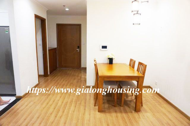 2 bedroom apartment in 20th floor of Vinhomes Nguyen Chi Thanh 4