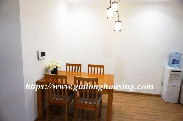 2 bedroom apartment in 20th floor of Vinhomes Nguyen Chi Thanh 5