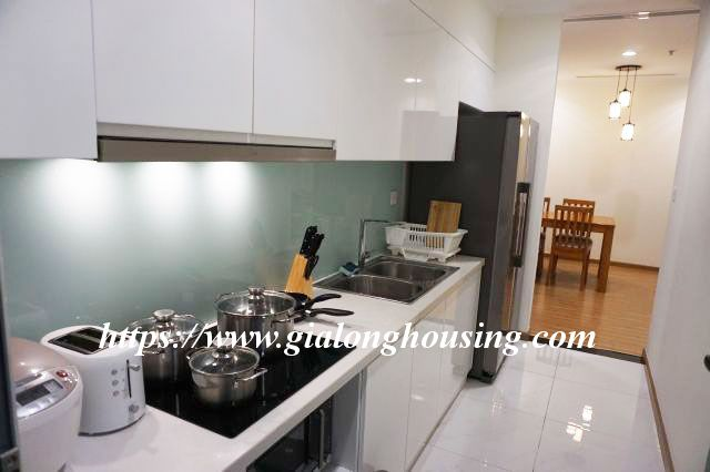 2 bedroom apartment in 20th floor of Vinhomes Nguyen Chi Thanh 6