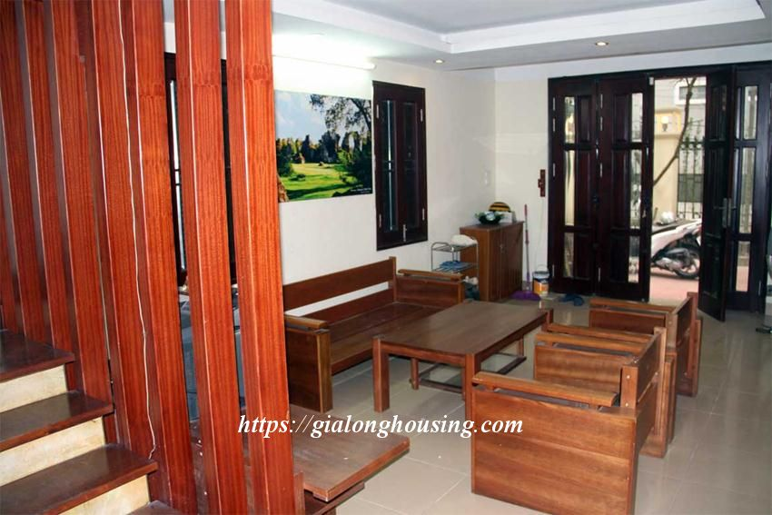 Fully furnished house in Trich Sai, next to West lake 4