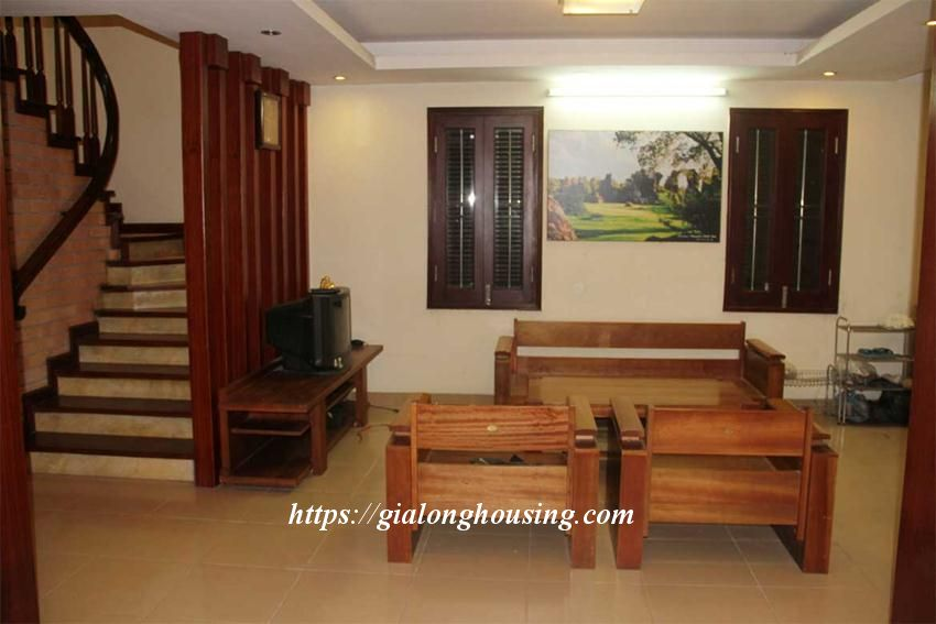 Fully furnished house in Trich Sai, next to West lake 5