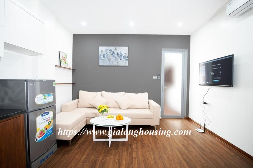 Brand new serviced apartment in Tran Quoc Vuong for rent 2