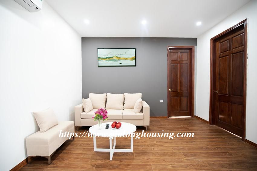 Brand new serviced apartment in Tran Quoc Vuong for rent 4