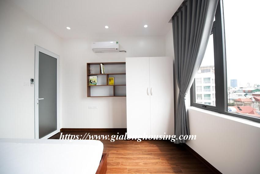 Brand new serviced apartment in Tran Quoc Vuong for rent 8