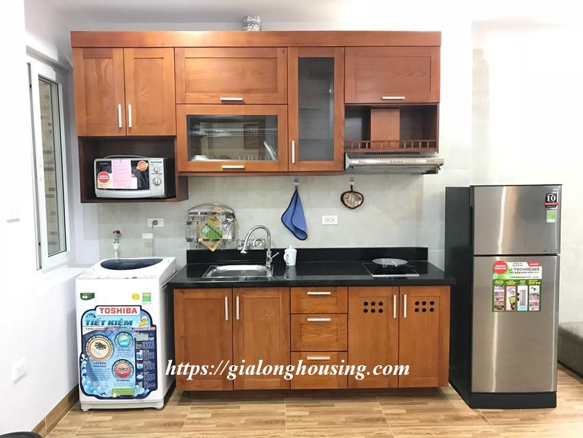 One bedroom apartment in De La Thanh for rent 2