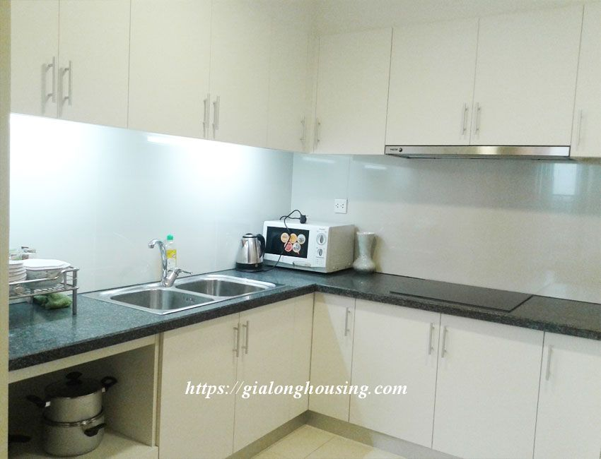 Fully furnished apartment in Sky City 88 Lang Ha 3