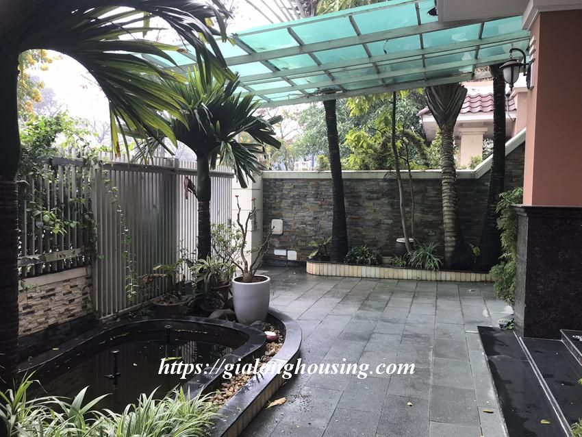 Fully furnished villa in T block Ciputra for rent today 3