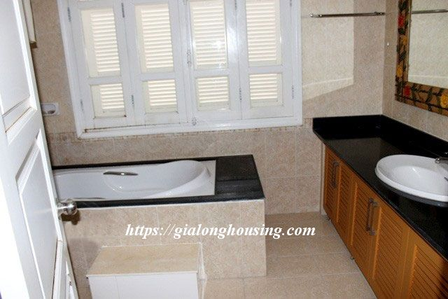 Villa with full of furniture in T block of Ciputra, $2000 12