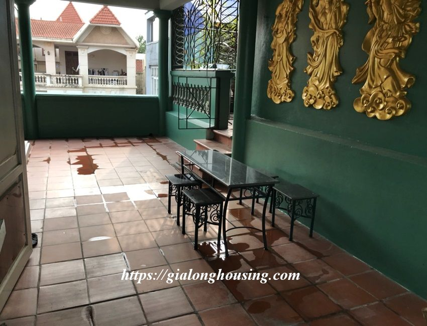 3 bedroom house in lane 31 Xuan Dieu for rent 4