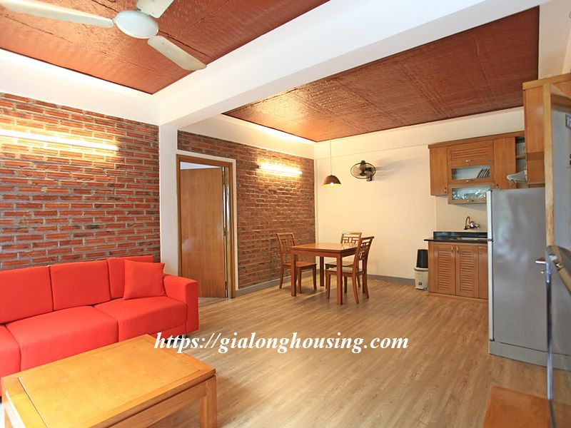 Bright serviced apartment at the quiet alley of Tay Ho road 1