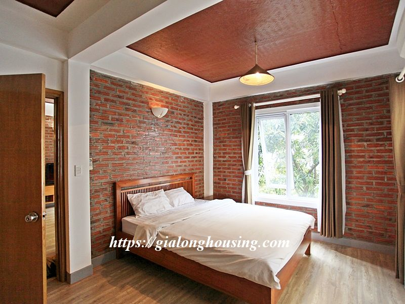 Bright serviced apartment at the quiet alley of Tay Ho road 12
