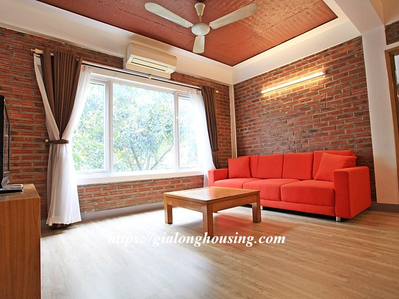 Bright serviced apartment at the quiet alley of Tay Ho road 2