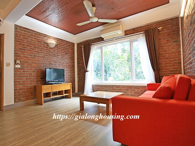 Bright serviced apartment at the quiet alley of Tay Ho road 5