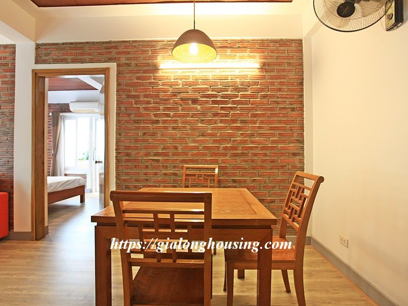 Bright serviced apartment at the quiet alley of Tay Ho road 7
