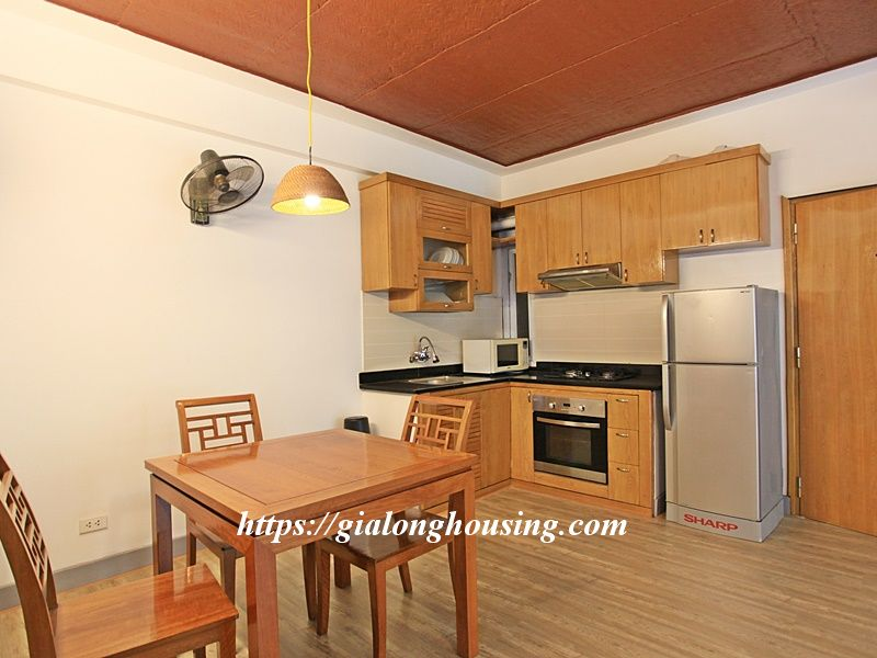 Bright serviced apartment at the quiet alley of Tay Ho road 8