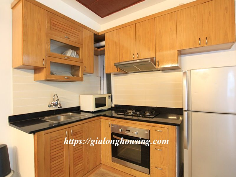 Bright serviced apartment at the quiet alley of Tay Ho road 9