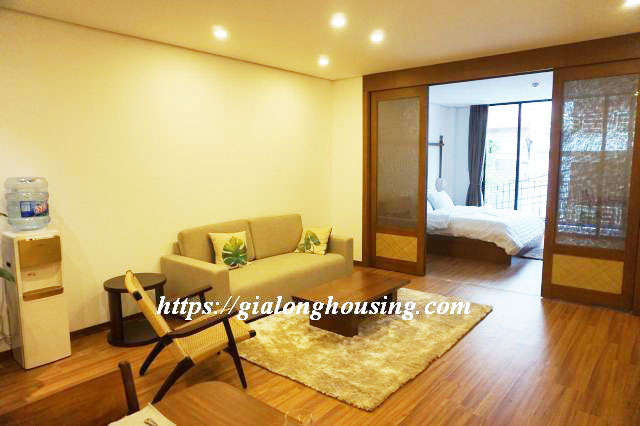 Brand new serviced apartment in Truong Han Sieu for rent 10