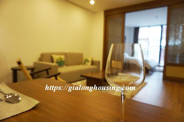 Brand new serviced apartment in Truong Han Sieu for rent 11