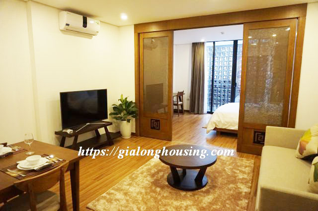 Brand new serviced apartment in Truong Han Sieu for rent 2