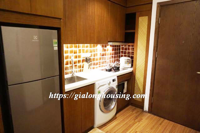 Brand new serviced apartment in Truong Han Sieu for rent 3