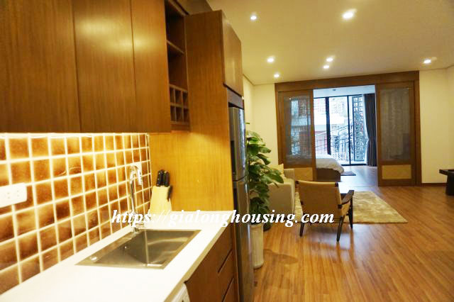 Brand new serviced apartment in Truong Han Sieu for rent 4