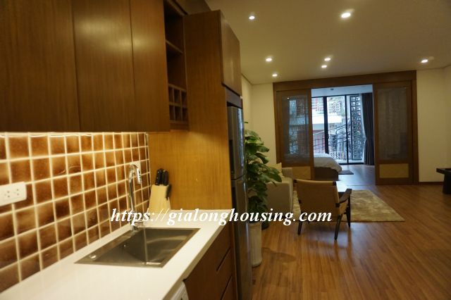 Brand new serviced apartment in Truong Han Sieu for rent 6
