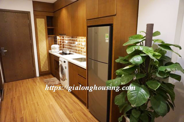 Brand new serviced apartment in Truong Han Sieu for rent 9