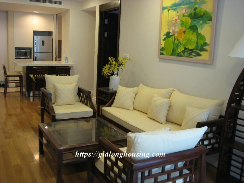 2 bedroom apartment in Hoang Thanh Tower for rent 6