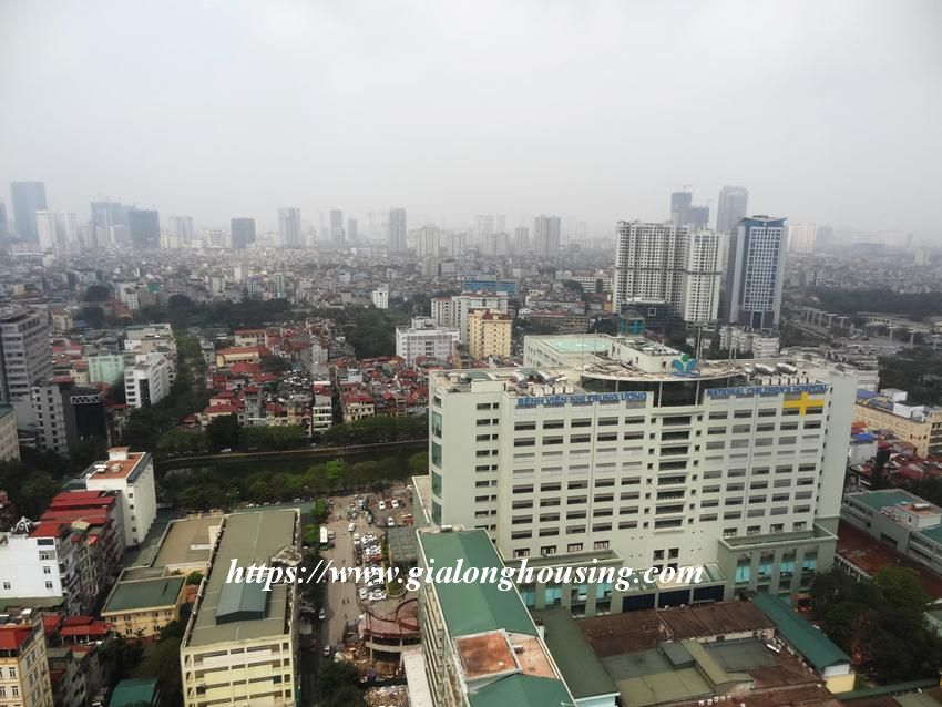 3 bedroom bed apartment in Vinhomes, near Lotte for rent 13