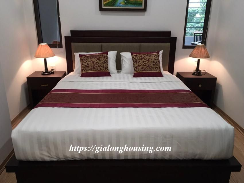 Brand new 2 bedroom serviced apartment in Ho Tung Mau for rent 13