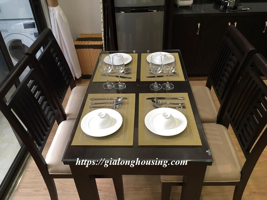 Brand new 2 bedroom serviced apartment in Ho Tung Mau for rent 3