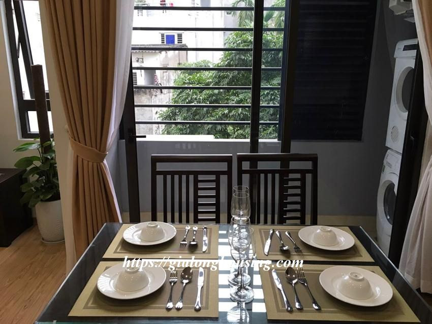 Brand new 2 bedroom serviced apartment in Ho Tung Mau for rent 4