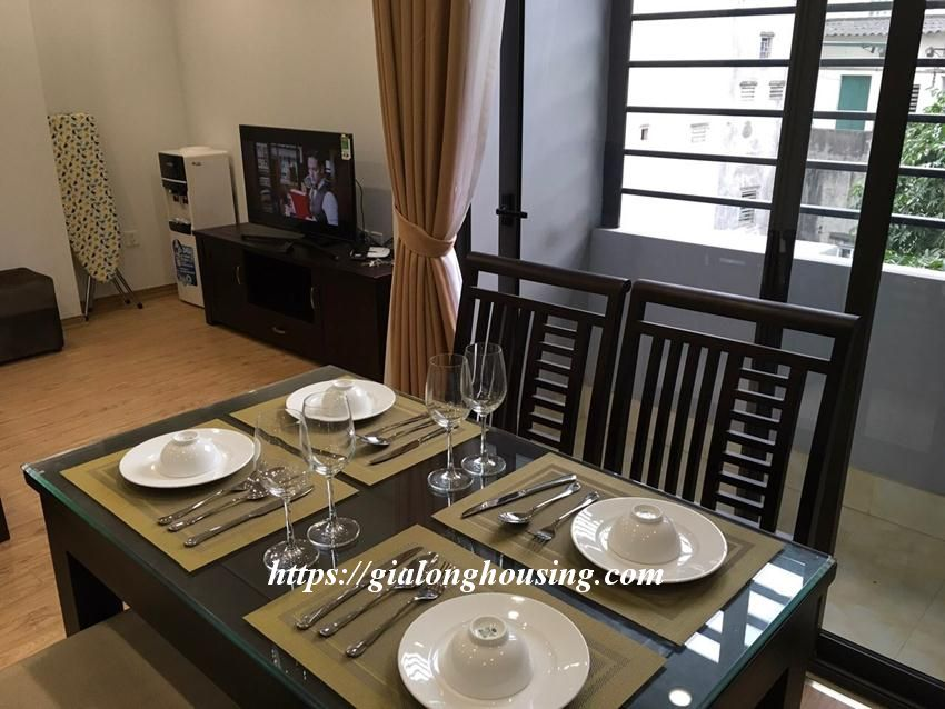Brand new 2 bedroom serviced apartment in Ho Tung Mau for rent 5