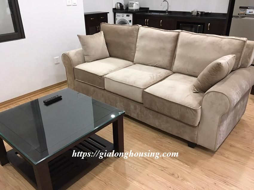 Brand new 2 bedroom serviced apartment in Ho Tung Mau for rent 9