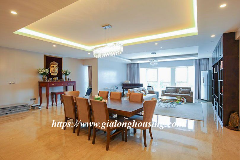 Luxurious golf court view apartment in L building, Ciputra 1